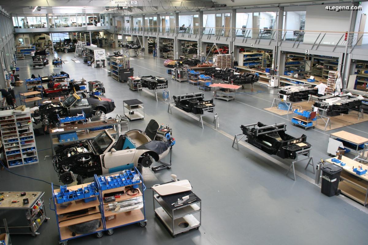 Visite exclusive de la manufacture Wiesmann - Usine - 2ème partie
