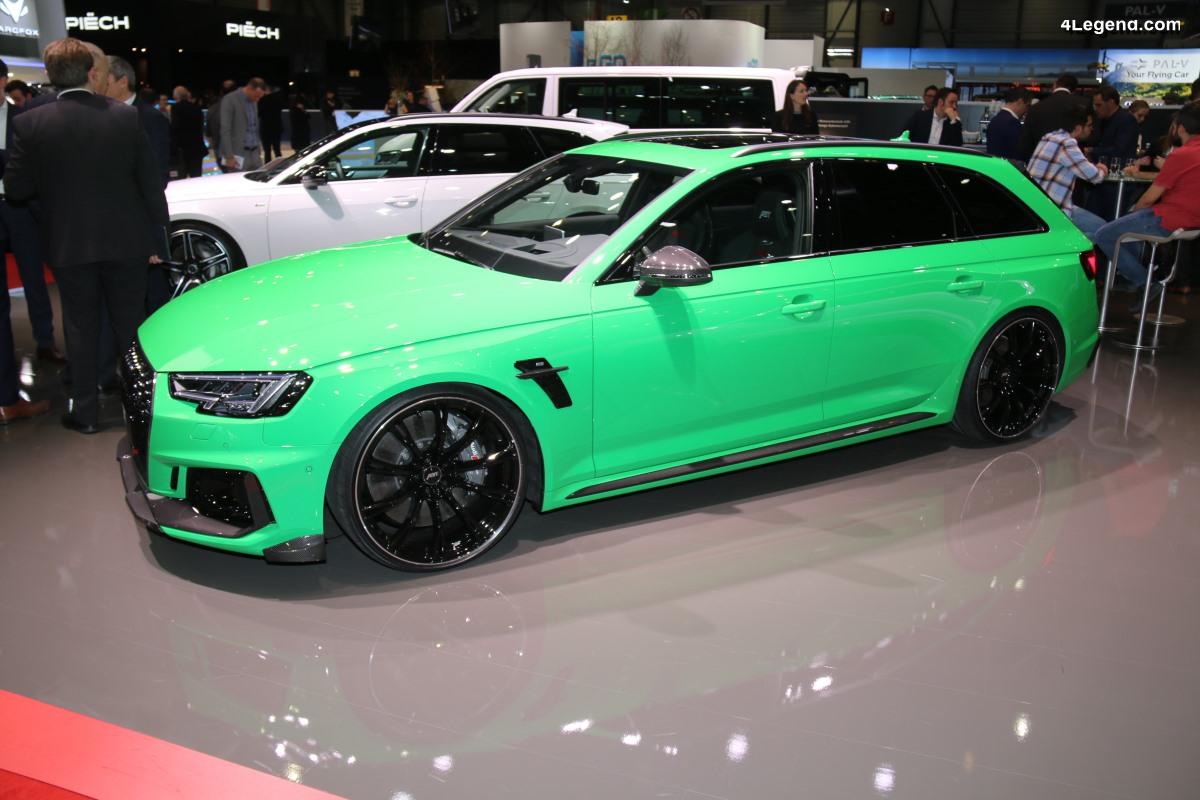 Genève 2019 - ABT RS4+ de 530 ch limitée à 50 exemplaires