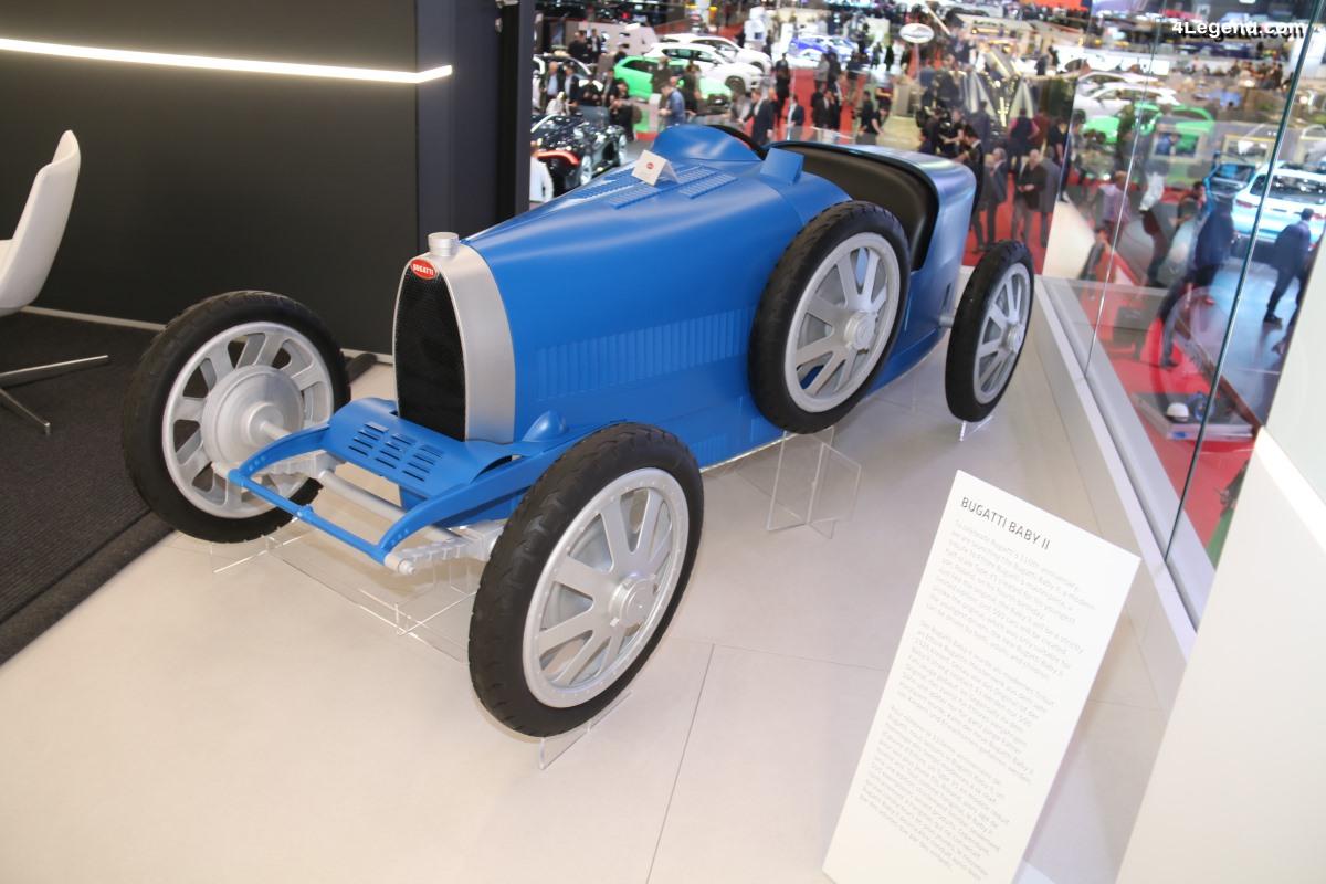 Genève 2019 - Bugatti Baby II - Un hommage à la Type 35, limitée à 500 exemplaires