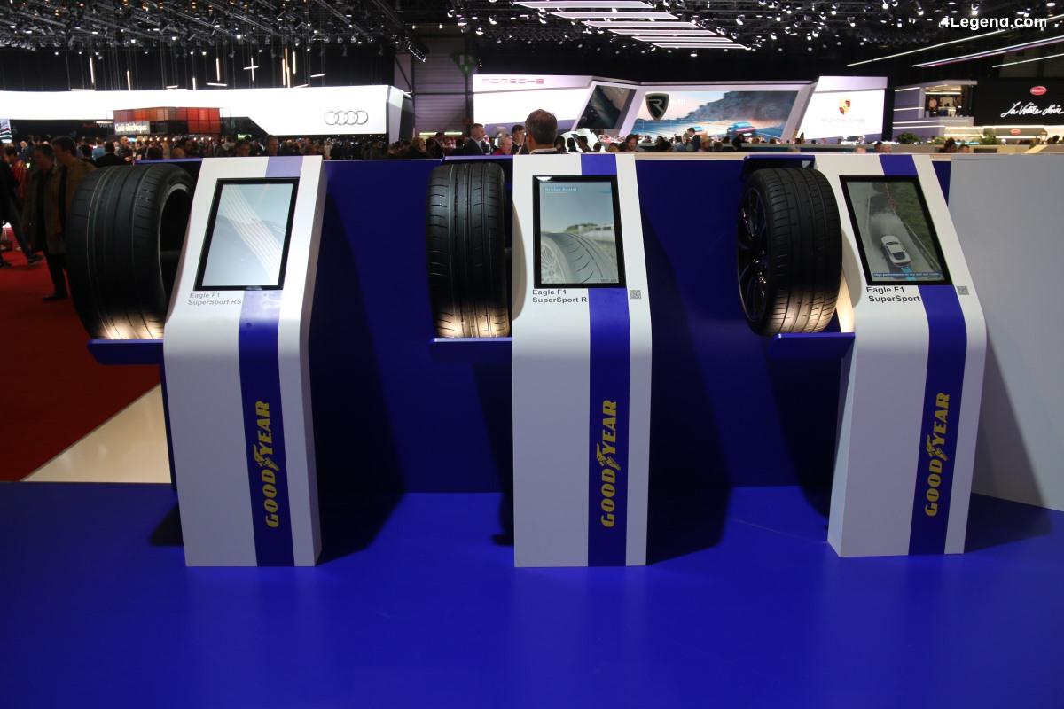 Genève 2019 - Nouvelle gamme de pneus sportifs Goodyear Eagle F1 SuperSport