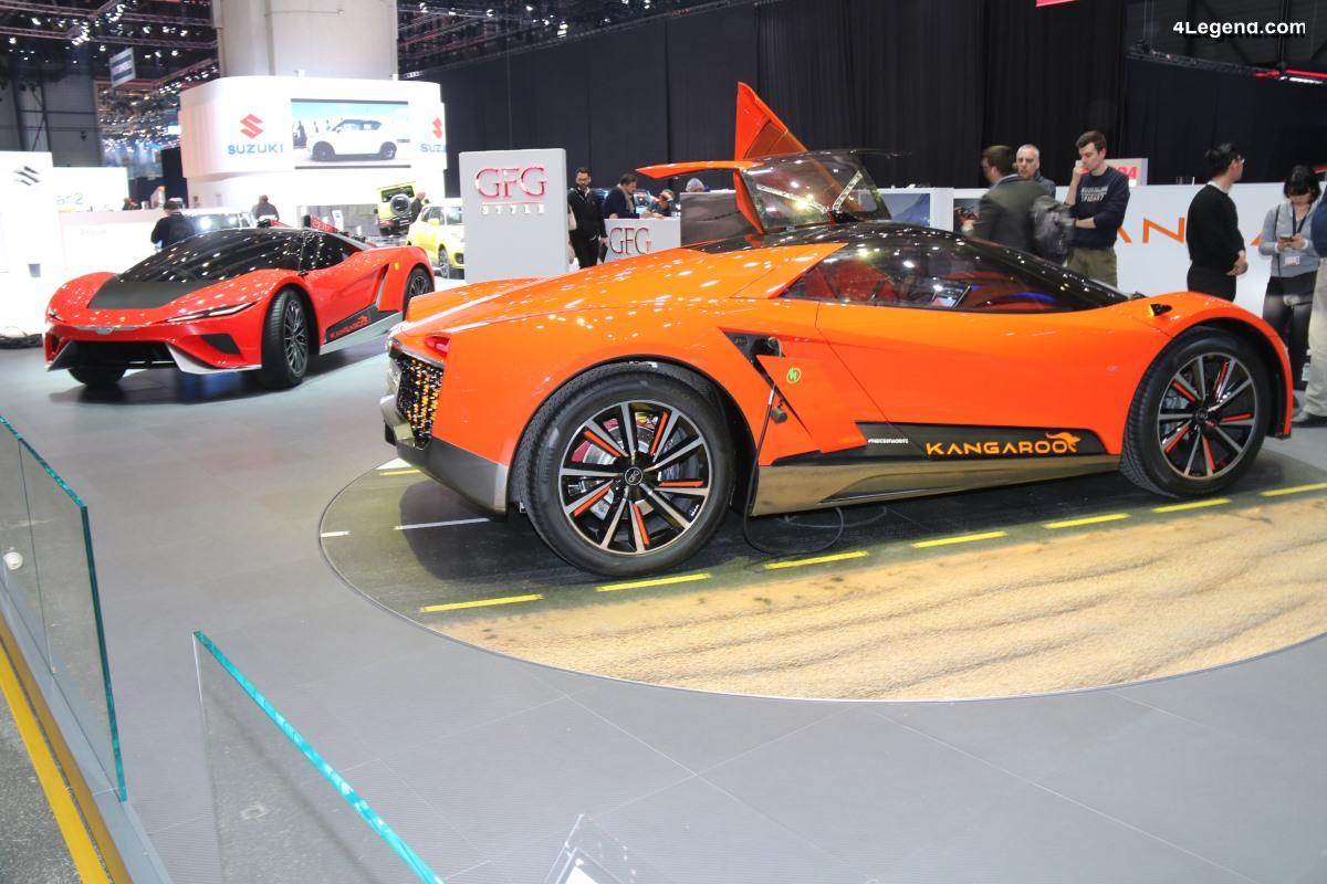 Genève 2019 - GFG Style Kangaroo : l'hyper SUV dérivé de l'Audi nanuk quattro