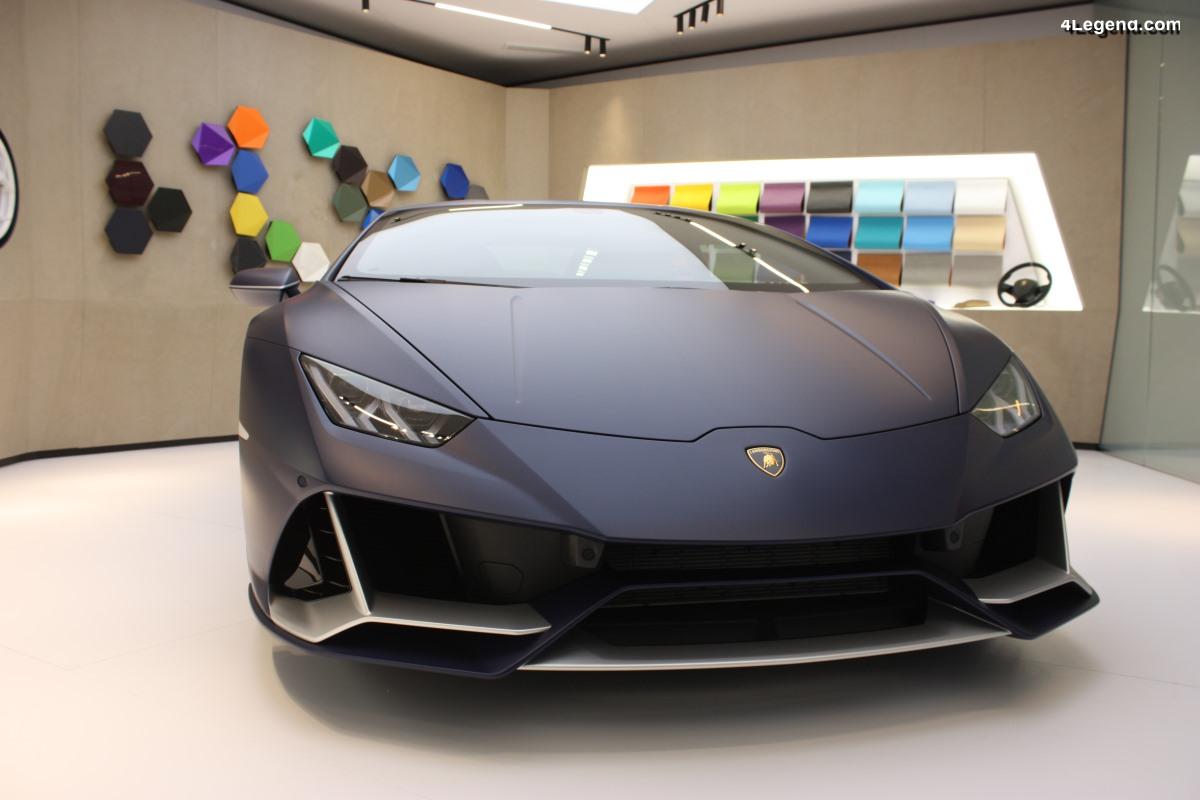 Genève 2019 - Lamborghini Huracán EVO personnalisée par Ad Personam