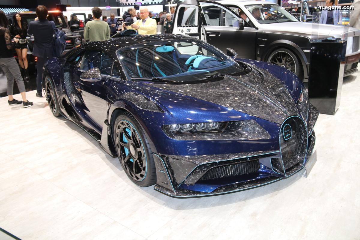 Genève 2019 - Mansory Centuria : une Bugatti Chiron personnalisée