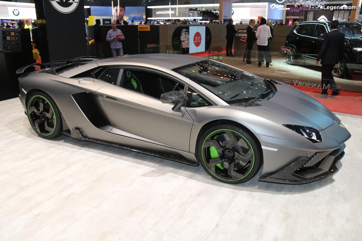 Genève 2019 - Lamborghini Aventador S Coupé par Mansory
