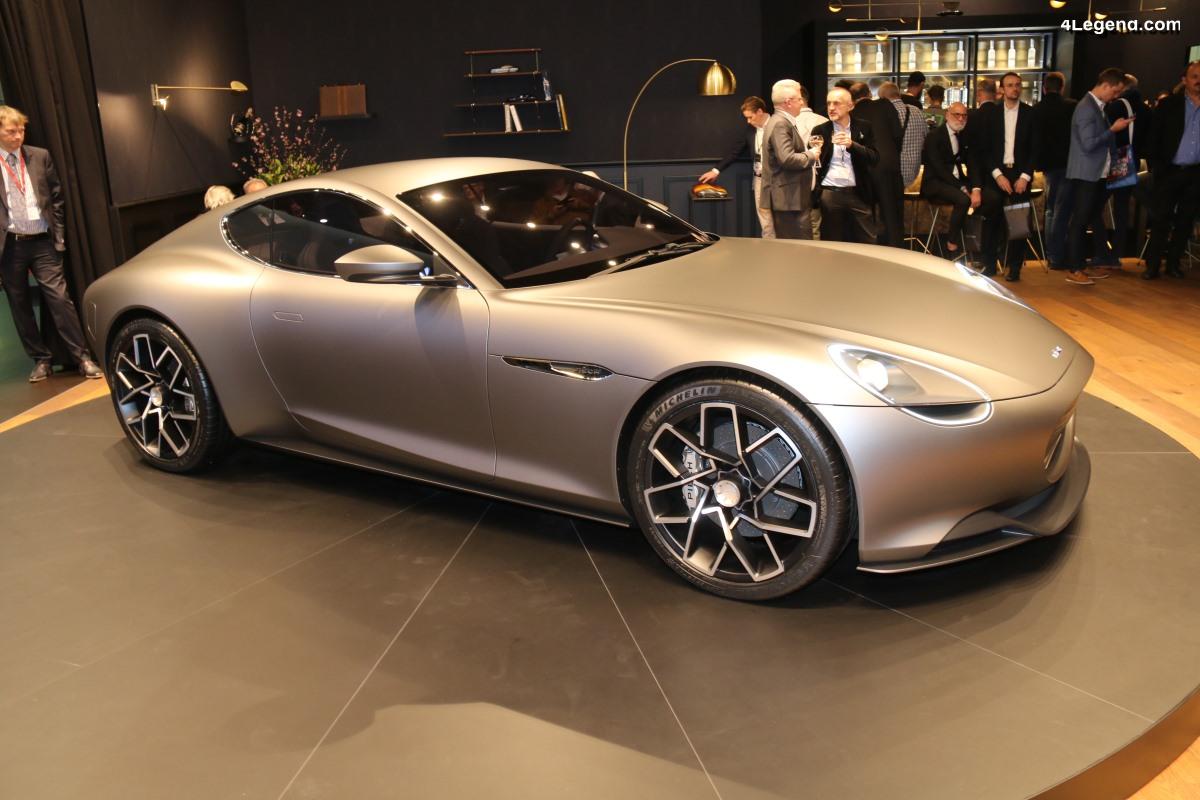 Genève 2019 - Piëch Mark Zero : une GT électrique avec 500 km d'autonomie