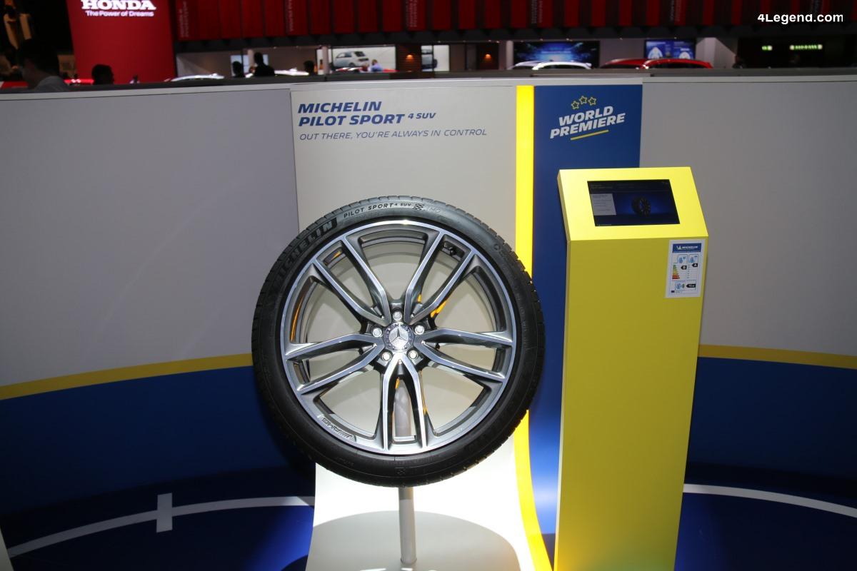 Genève 2019 - Pneu Michelin Pilot Sport 4 SUV