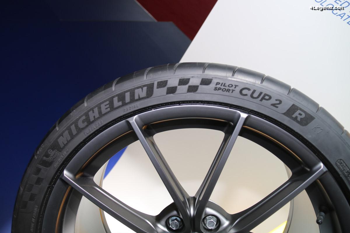 Pneu Michelin Pilot Sport Cup 2 R - Le pneu semi-slick des records