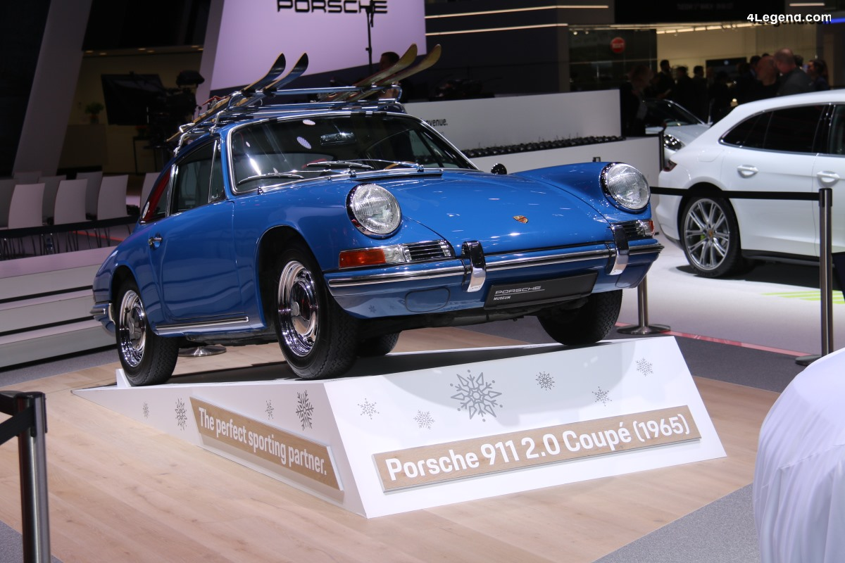 Genève 2019 - Porsche 911 2.0 Coupé de 1965