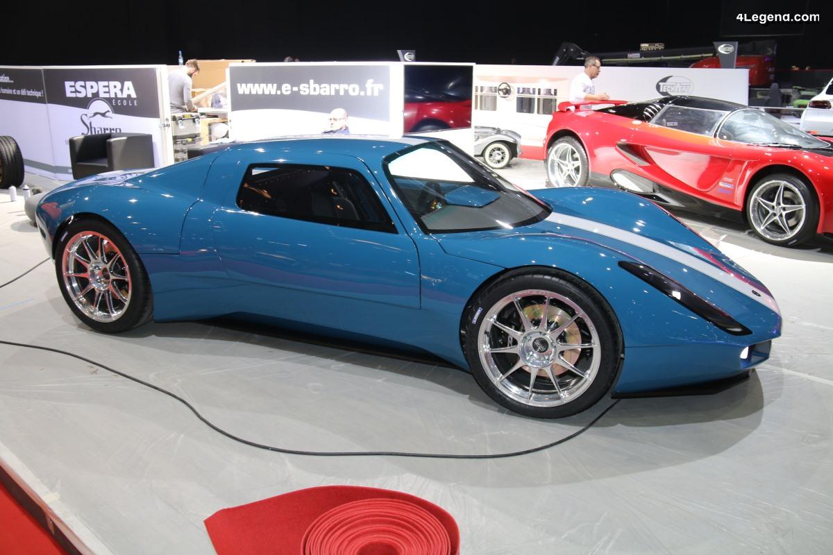 Genève 2019 - Sbarro Renner : des gênes de Porsche 904