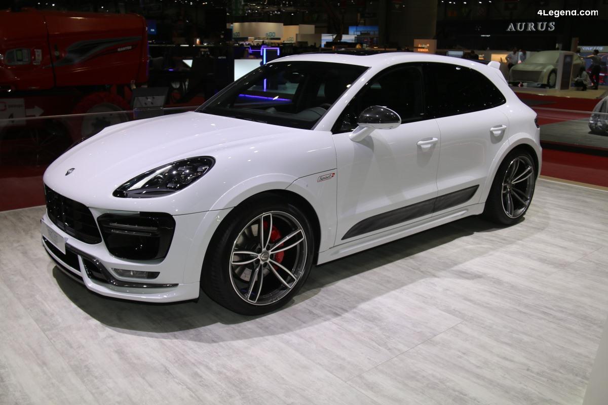 Genève 2019 - Pack Sport+ Techart pour le Porsche Macan
