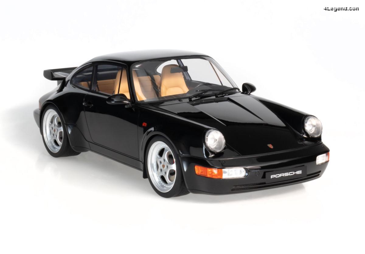 Miniature Porsche 911 3.6 Turbo au 1:8 - Une nouvelle gamme par GT Spirit