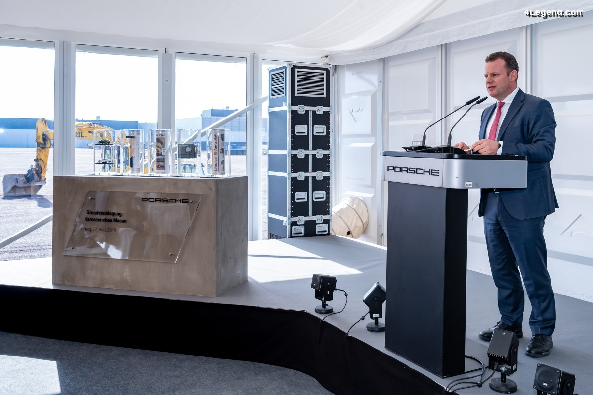 Porsche jette les bases d'une croissance continue à Leipzig