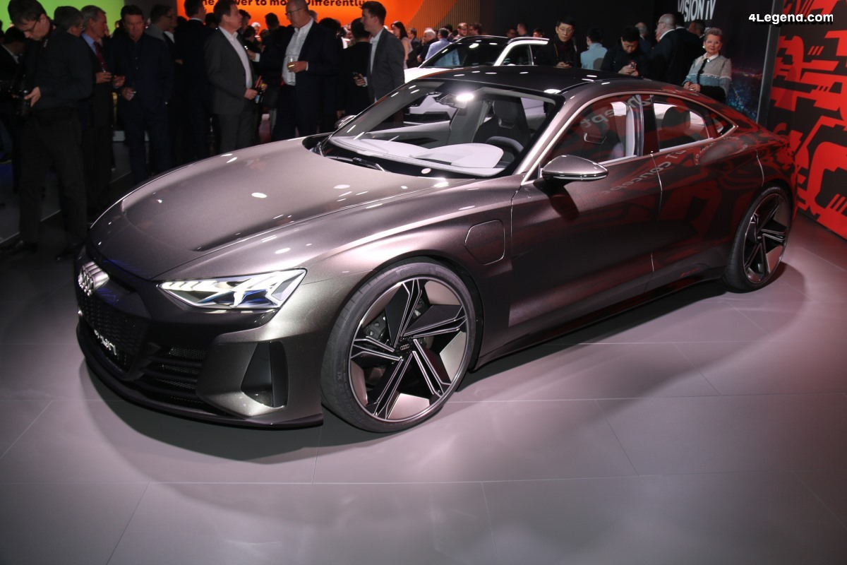 VW Group Night Genève 2019 - Audi e-tron GT concept
