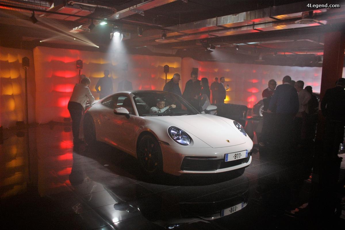 Centre Porsche Annecy - présentation de la 992