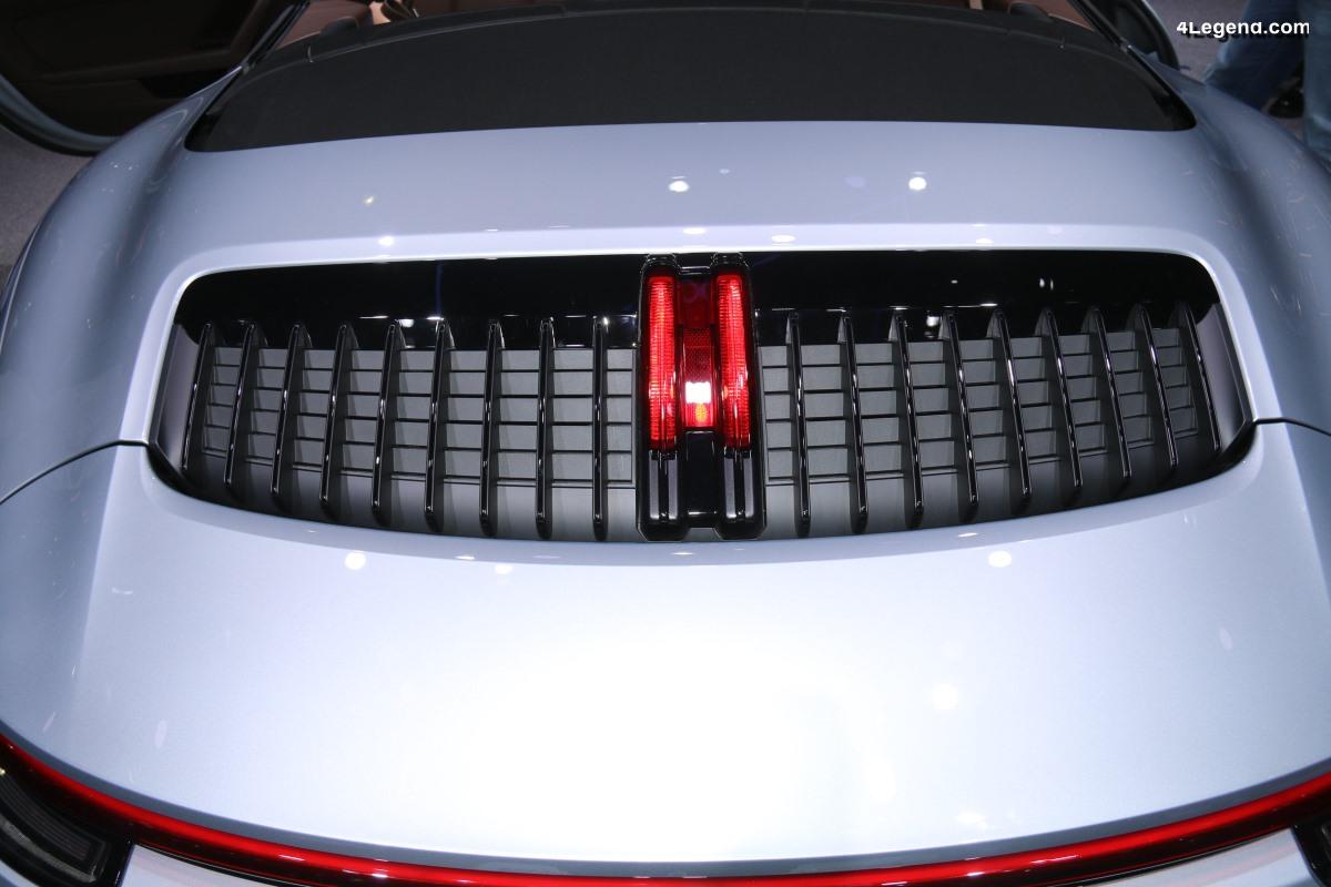 Anecdotes - Spécificités de l'entrée d'air moteur des Porsche 911 type 992