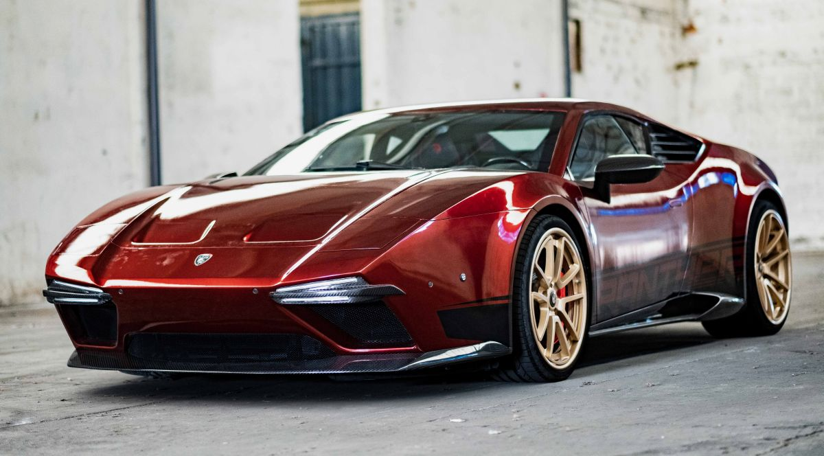 Panther ProgettoUno d'Ares Design - Un revival de la De Tomaso Panthera