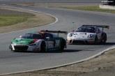 8 Heures de Californie – Un podium manqué de peu pour l'Audi R8 LMS GT3