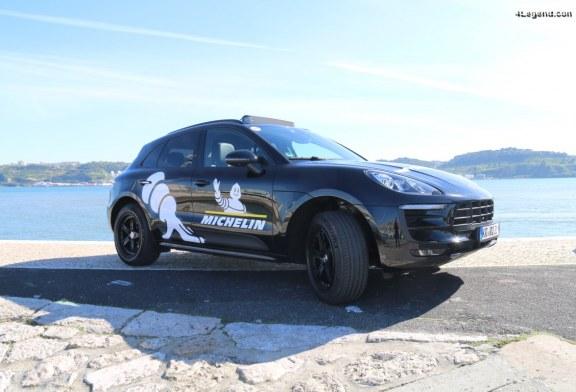 Essai du pneu Michelin Pilot Sport 4 SUV avec un Porsche Macan