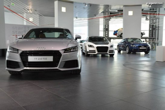 State of the ArTT – Exposition sur l'histoire de l'Audi TT
