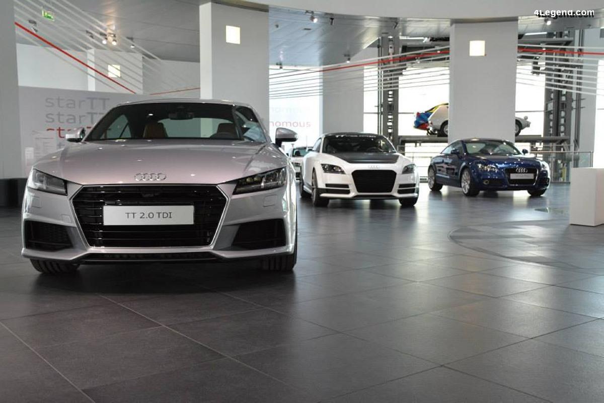 Audi confirme la fin de la production du TT et peut être du R8 V10