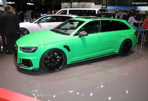 Genève 2019 – ABT RS4+ de 530 ch limitée à 50 exemplaires
