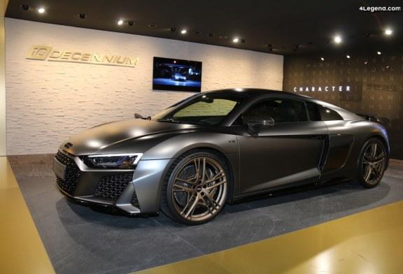 Genève 2019 – Découverte de l'Audi R8 V10 Decennium au sein du lounge Audi exclusive