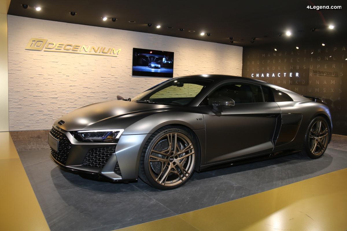 Genève 2019 - Découverte de l'Audi R8 V10 Decennium au sein du lounge Audi exclusive