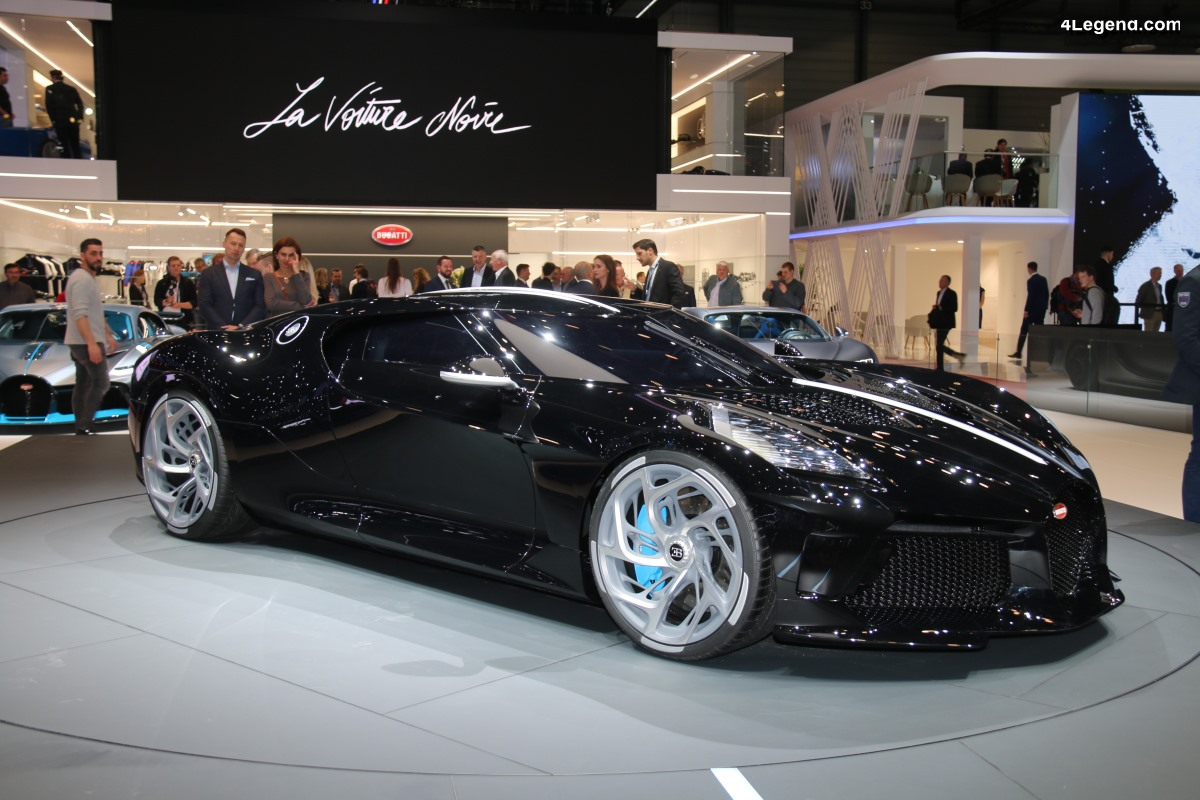 Genève 2019 - Bugatti la
