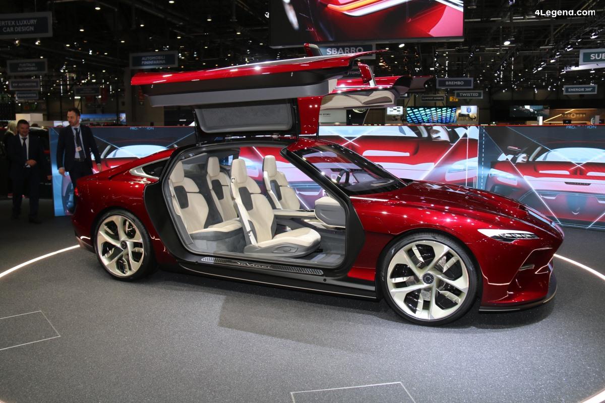 Genève 2019 - Italdesign DaVinci : un concept de GT électrique