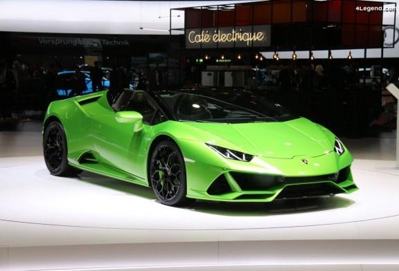 Genève 2019 – Lamborghini Huracán EVO Spyder