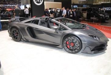 Genève 2019 – Mansory Carbonado Evo – Lamborghini Aventador S Roadster de 1 250 ch