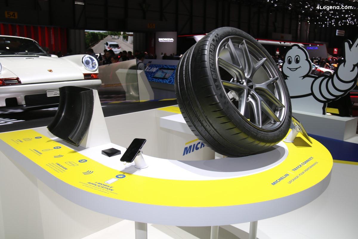 Genève 2019 - Interview exclusive sur les évolutions du Michelin Track Connect