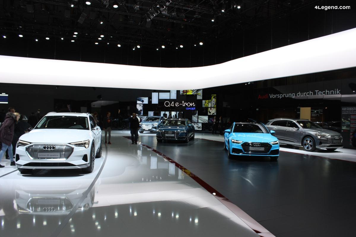 Genève 2019 - Audi expose sa gamme hybride rechargeable TFSI e