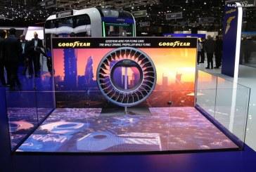 Genève 2019 – Pneu Goodyear Aero – Un concept de pneu pour les voitures volantes et autonomes de demain