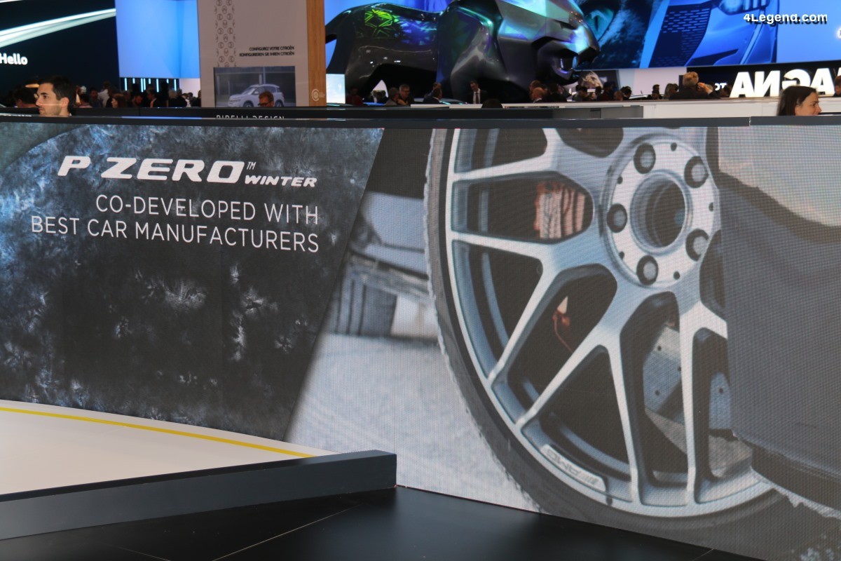 Genève 2019 - Pirelli P Zero Winter : un nouveau pneu hiver sportif
