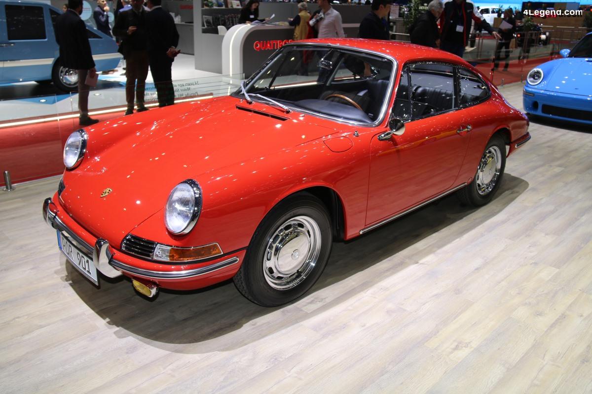 Genève 2019 - Porsche 901 de 1964 - châssis 300078 - restaurée par RUF