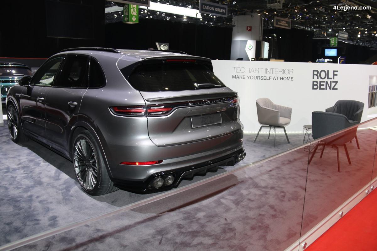 Geneve 2019 - Intérieur Porsche Cayenne de Techart par Rolf Benz