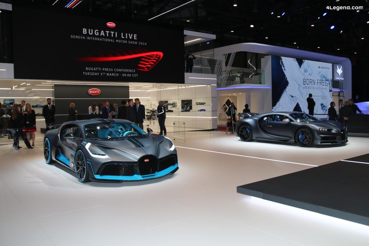 Genève 2019 - Coulisses exclusives du stand Bugatti