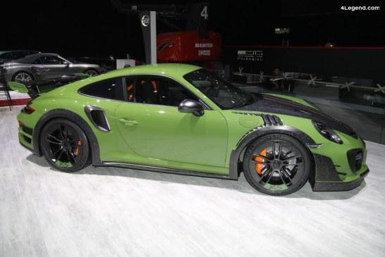 Genève 2019 – Découverte détaillée de la Techart GTstreet RS