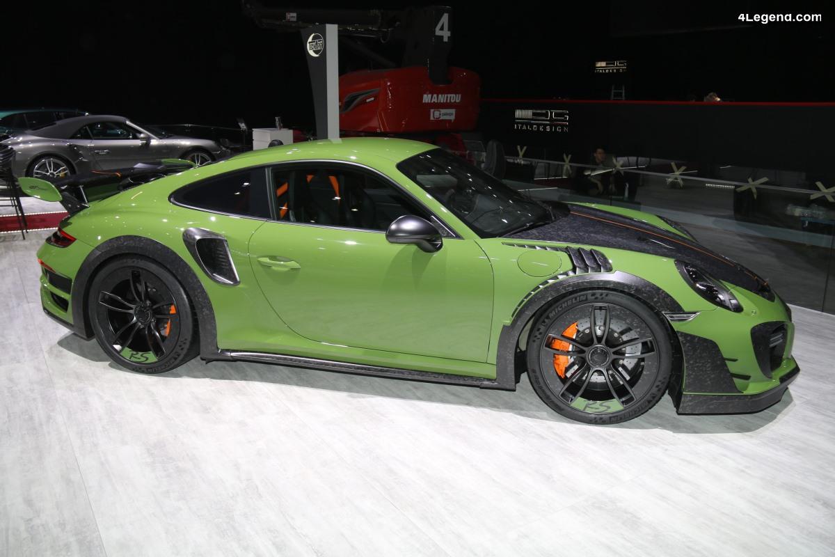 Genève 2019 - Découverte détaillée de la Techart GTstreet RS