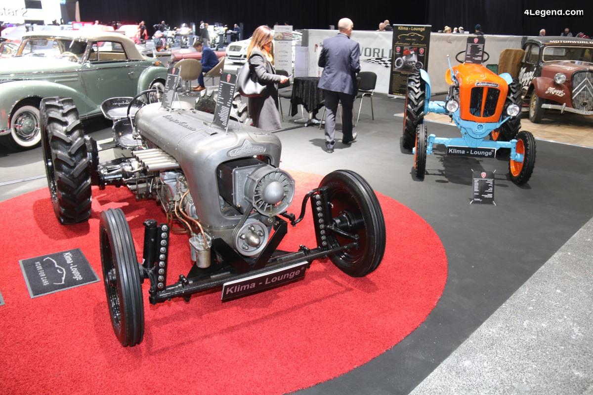 Genève 2019 - Exposition de tracteurs Lamborghini