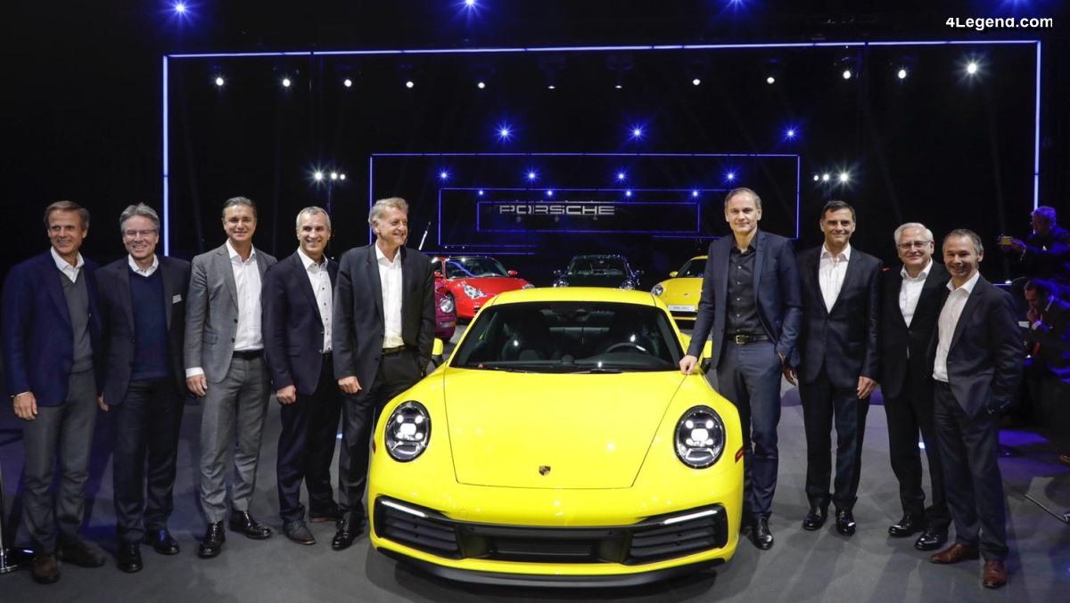 Interview du directeur achats Uwe-Karsten Städter au sujet de la Porsche 911 type 992