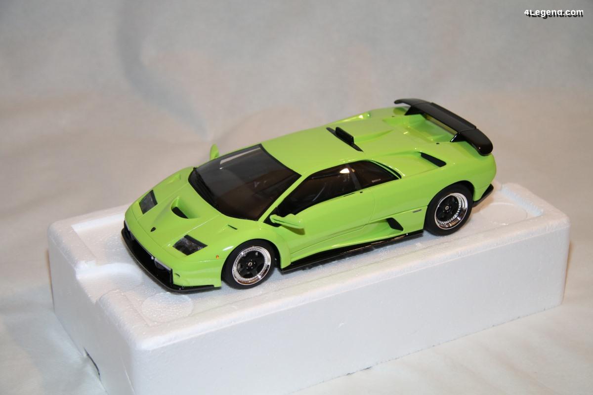 Lamborghini Diablo GT au 1:18 par Kyosho - GT Spirit