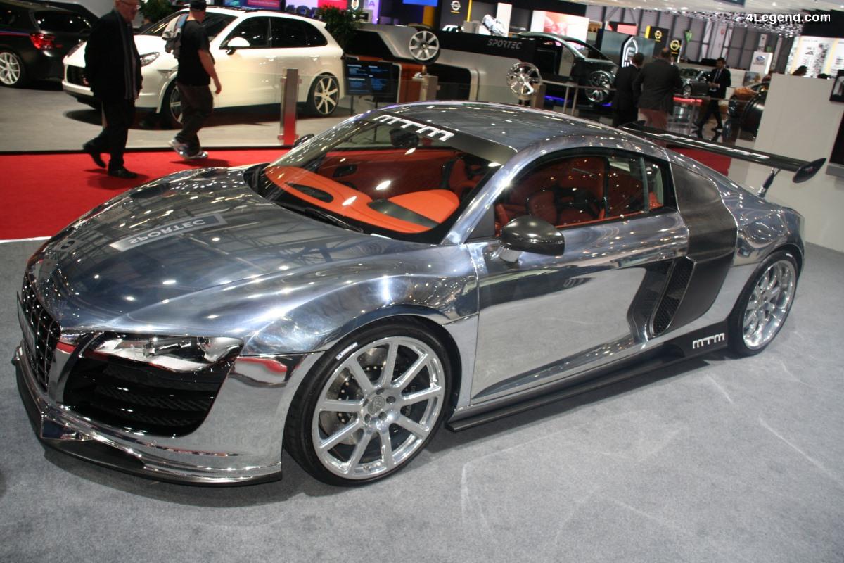 MTM R8 Biturbo de 2013 - Une Audi R8 de 777 ch