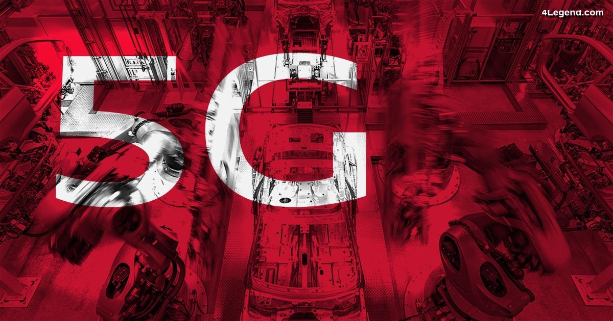 5G : Ericsson, Audi et Sick présentent l'interaction homme-robot en temps réel
