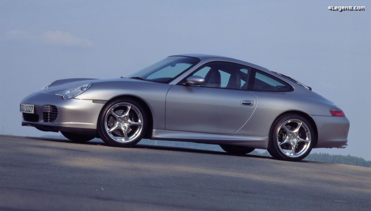 Porsche 911 40 Jahre type 996 de 2003 - Une série limitée célébrant les 40 ans de la 911