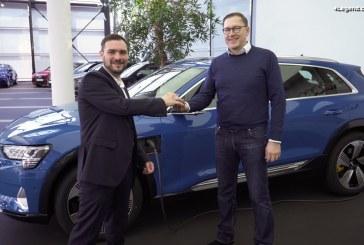 Première livraison d'Audi e-tron à l'Audi Forum Neckarsulm
