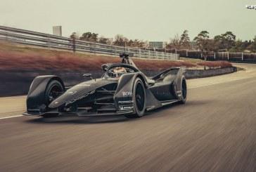 Premiers essais de Neel Jani au volant de la Porsche Formule E
