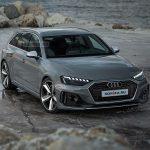 Rendu réaliste de l'Audi RS 4 Avant restylée