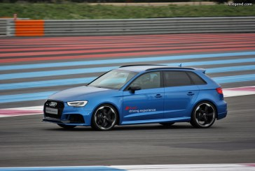 Audi France – rassemblement Audi Sport au Castellet le 19 avril